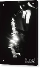 Sax Player 3 Acrylic Print by Tony Cordoza