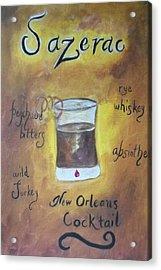 Sazerac Acrylic Print by Marian Hebert