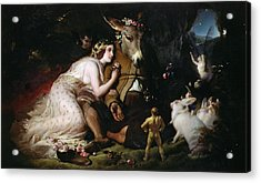 Scene From A Midsummer Night's Dream Acrylic Print by Sir Edwin Landseer