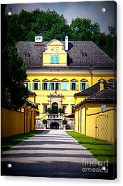 Schloss Hellbrunn Acrylic Print by Carol Groenen