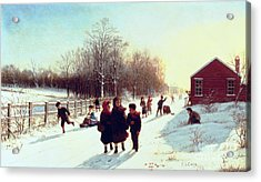 School's Out Acrylic Print by Samuel S Carr