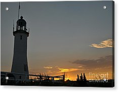 Scituate Light Acrylic Print by Catherine Reusch  Daley