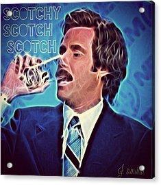 Scotchy Scotch Scotch Acrylic Print by J S