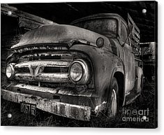 Scotopic Vision 6 - 53 Ford Acrylic Print by Pete Hellmann
