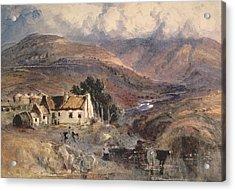 Scottish Landscape Acrylic Print by Sir Joseph Noel Paton