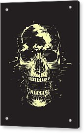 Scream Acrylic Print by Balazs Solti