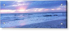 Sea At Dusk, Gulf Of Mexico, Naples Acrylic Print by Panoramic Images
