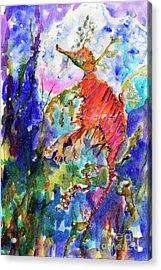 Sea Dragon Wonderland Acrylic Print by Ginette Callaway