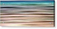 Sea Movement Acrylic Print by Stelios Kleanthous