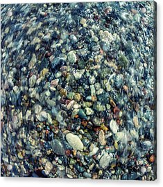 Sea Pebbles Acrylic Print by Stelios Kleanthous