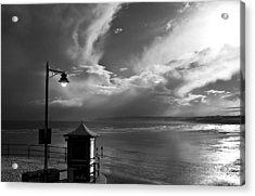 Seafront Acrylic Print by Svetlana Sewell