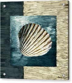 Seashell Souvenir Acrylic Print by Lourry Legarde