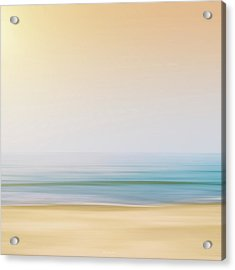 Seashore Acrylic Print by Wim Lanclus
