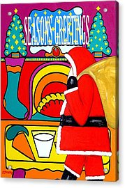 Seasons Greetings 16 Acrylic Print by Patrick J Murphy