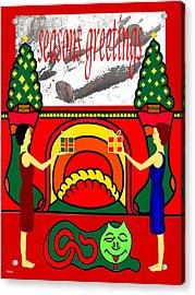 Seasons Greetings 18 Acrylic Print by Patrick J Murphy