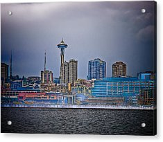 Seattle Acrylic Print by Jim DeLillo