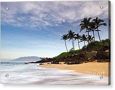 Secret Beach Maui Sunrise Acrylic Print by Dustin K Ryan