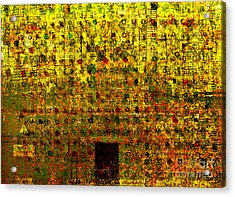 Secret IIi Acrylic Print by Andy  Mercer