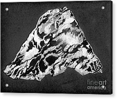 Secret Mountain Acrylic Print by Mary Zimmerman