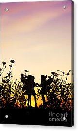 Secret Sunrise Acrylic Print by Tim Gainey