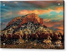 Sedona Dawn Acrylic Print by Jon Burch Photography