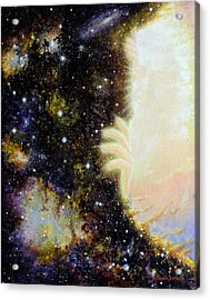 Seeing Beyond Acrylic Print by Graham Braddock