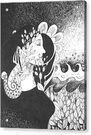 Seeing Light Acrylic Print by Helena Tiainen