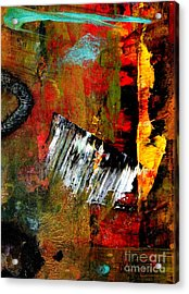 Seeing The Light At The End Acrylic Print by Angela L Walker