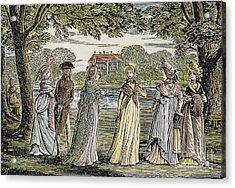 Sense & Sensibility, 1811 Acrylic Print by Granger