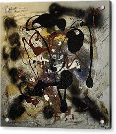 Sentiments Et Emotions Acrylic Print by Karo Evans