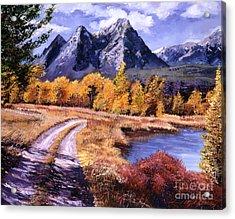 September High Country Acrylic Print by David Lloyd Glover