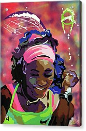 Serena Acrylic Print by Chelsea VanHook