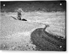 Serpentine Passage II Acrylic Print by Jon Glaser