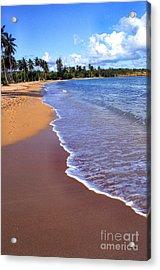 Seven Seas Beach Acrylic Print by Thomas R Fletcher