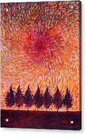 Seven Wishes Acrylic Print by Wojtek Kowalski