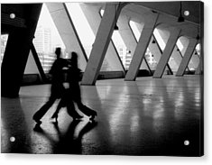 Shadow Tango Acrylic Print by Lian Wang