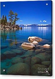 Shallow Water Acrylic Print by Vance Fox