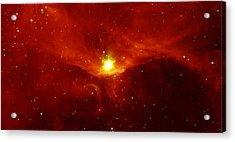 Sharpless 140 In The Constellation Cepheus Acrylic Print by American School