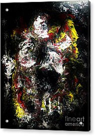 Shattering Man Hope Acrylic Print by Chris Brightwell