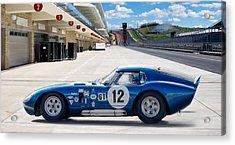 Shelby Daytona Coupe Acrylic Print by Peter Chilelli