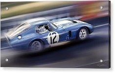 Shelby Daytona Acrylic Print by Peter Chilelli