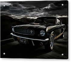 Shelby Gt350h Rent-a-racer Acrylic Print by Douglas Pittman