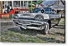 Sheriff Car 1 Acrylic Print by Todd Hostetter