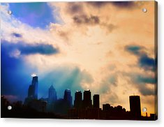 Shine A Light Acrylic Print by Bill Cannon
