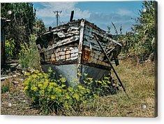 Ship Wrecked, Los Osos Acrylic Print by John Pierpont
