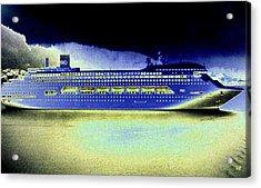 Shipshape 7 Acrylic Print by Will Borden