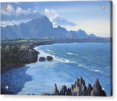 Shipwreck Beach Acrylic Print by Ian Henderson