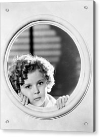 Shirley Temple (1928-2014) Acrylic Print by Granger