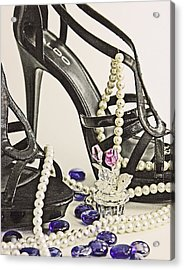 Shoes And Pearls Acrylic Print by Jim Justinick