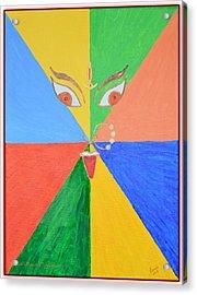 Shubh Durga Ashtami Acrylic Print by Sonali Gangane